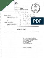 David Bisard Appellate Brief