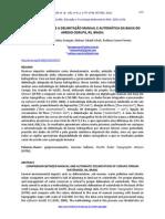 Comparação Entre a Delimitação Manual e Automática Da Bacia