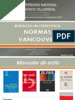 Redacción Científica - Normas Vancouver