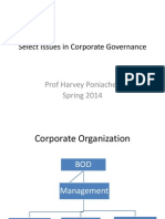Corporate Governance Spring 2014