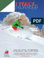Dolomites Ski Tours 2015 Brochure