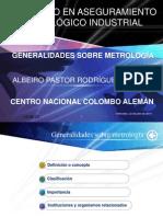 Generalidades Sobre Metrología