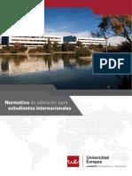 Normativa Internacionales 2013 14