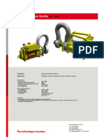 Hydraulic Release Shackle