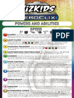 2014 HeroClix Powers and Abilities Card