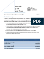 Estimating the Economic Boost of Marriage for Same-Sex Couples in Texas