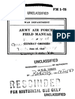 FM 1-75 Army Air Forces Field Manual Combat Orders