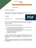 Informe Foropolis (Dic 2013-Abr 2014)