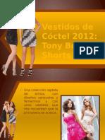 Vestidos de Cóctel 2012