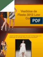 Vestidos de Fiesta 2012 Low Cost