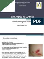 Reacción de Arthus