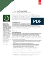 Marketing Cloud Solution Overview De