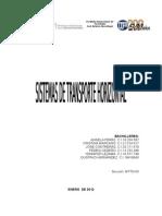 Sistema Horizontal de Transporte