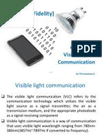 Li-Fi (Light Fidelity)