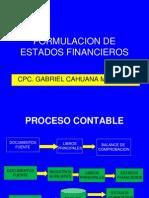 Formulacion de Estados Financieros 2013