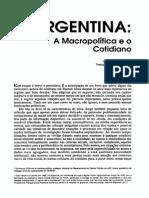 O'Donnel Argentina a Macropolitica e o Cotidiano