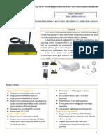 F7425 GPS+WCDMA&HSDPA&HSUPA&HSPA+ ROUTER SPECIFICATION