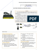 F7825 GPS+LTE&WCDMA ROUTER SPECIFICATION