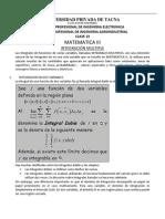 Clase 13(Integrales Dobles Caso 1)