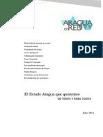 El Estado Aragua que queremos DE TODOS Y PARA TODOS