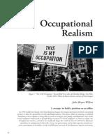 Occupational Realism