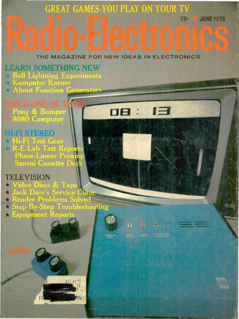 Re 1976 06 Videotape Electronics List Of 7400 Series Ttl Integrated Circuits Supreem