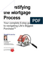 Demystifyinig the Mortgage Process