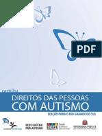 Cartilha Direitos Da Pessoa Com Autismo SP RS-25 Mar 2014