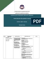 KPM Rancangan Pengajaran Tahunan Dunia Seni Visual Tahun 2 KSSR SK 2012