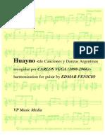 Carlos Vega- Huayno