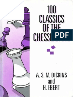 Dickins a.S.M. & H. Ebert-100 Classics of the Chessboard-1983