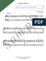 Trumpet Menuet