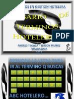 Glosario de Terminos Hoteleros