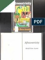 Afrocentricity-Molefi Kete Asante