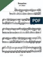 Sonatina in G, Anh 5