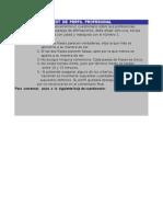 Corrección PAPI Excel