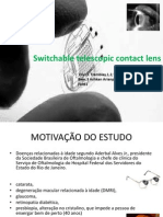 Switchable Telescopic Contact Lens