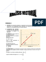 Semana 1 - Analisis Vectorial