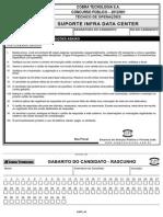 COBRA 2012 - InFRA - Tecn Operacoes Suporte Infra Data Center Nivel Medio 503