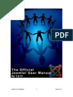 Joomla User Manual