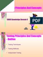 Domain 5 - TestPrinciplesAndConcepts