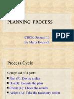 Domain 10 Planning Process