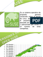 Presentacion de Sistemas Operativos OPEN SUSE