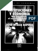 43430165 Instituciones y Economia Una Introduccion Al Neoinstitucionalismo Economico