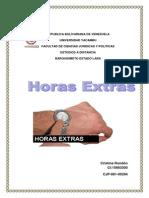Monografia de Horas Extras
