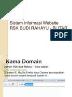 Sistem Informasi Website