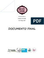 Documento Final - Encuentro Interno Educación UC 2014