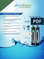 Evoclear Water Filter Brochure PDF