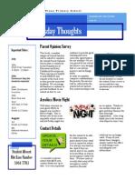 Newsletter 24-07-2014