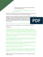 BIbliografía de currículum